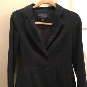Banana republic black blazer- size 4